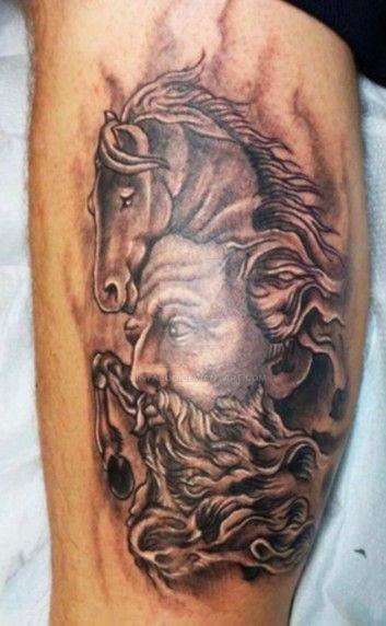 Poseidon Tattoo by Mr-Taboo