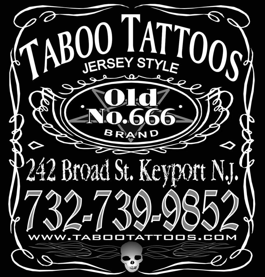 Taboo Tattoos Tee Back by Mr-Taboo