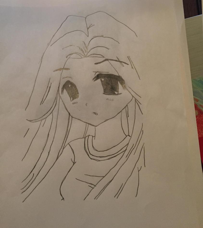 Anime Teen Girl by CuteLOLingCat