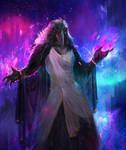 Raven mage . by dantevirgil