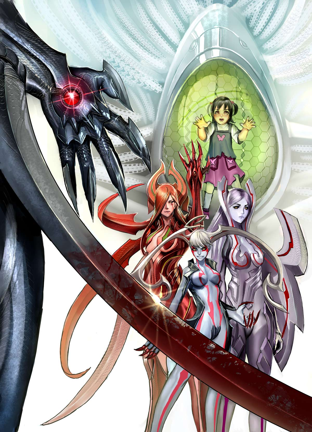 witchblade anime dvd cover by nebezial