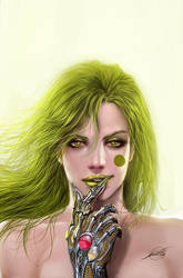 witchblade 119 cover by nebezial
