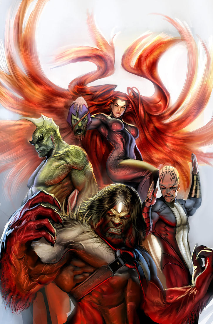 secret invasion inhumans 3 by nebezial