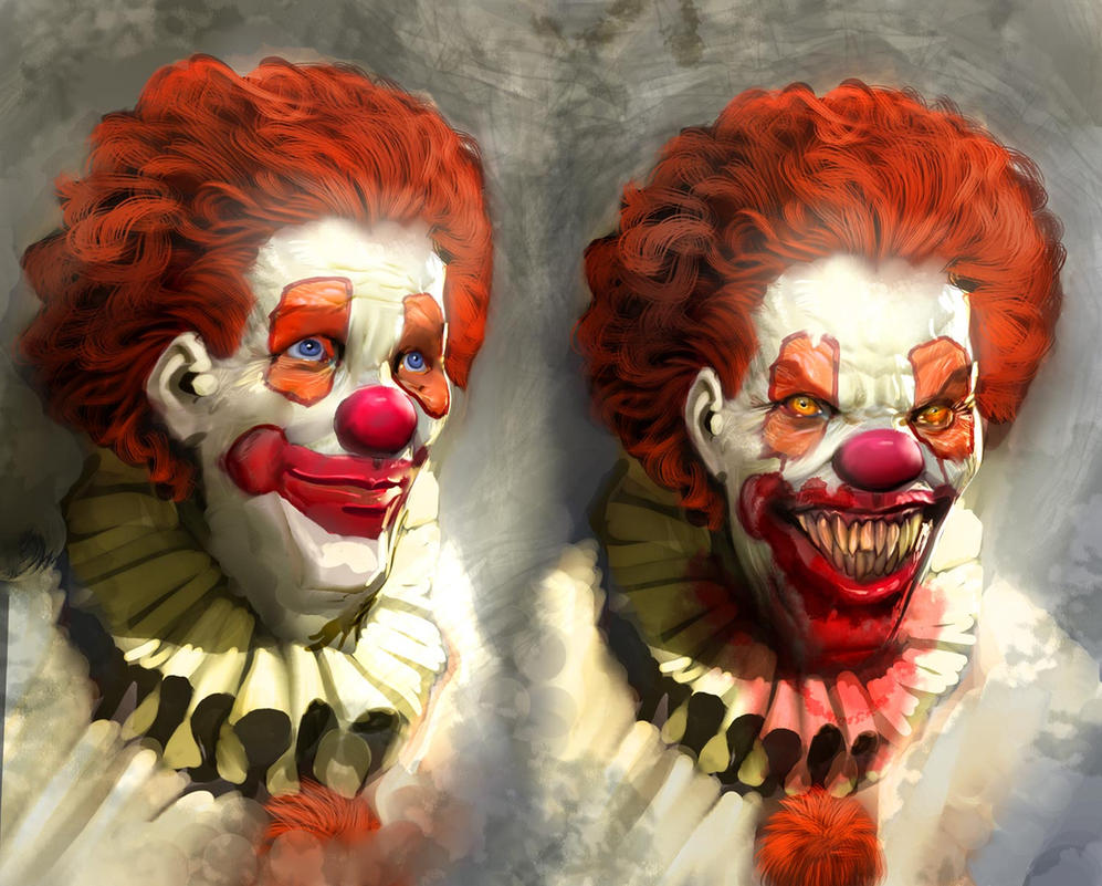 pennywise by nebezial on pennywise by nebezial
