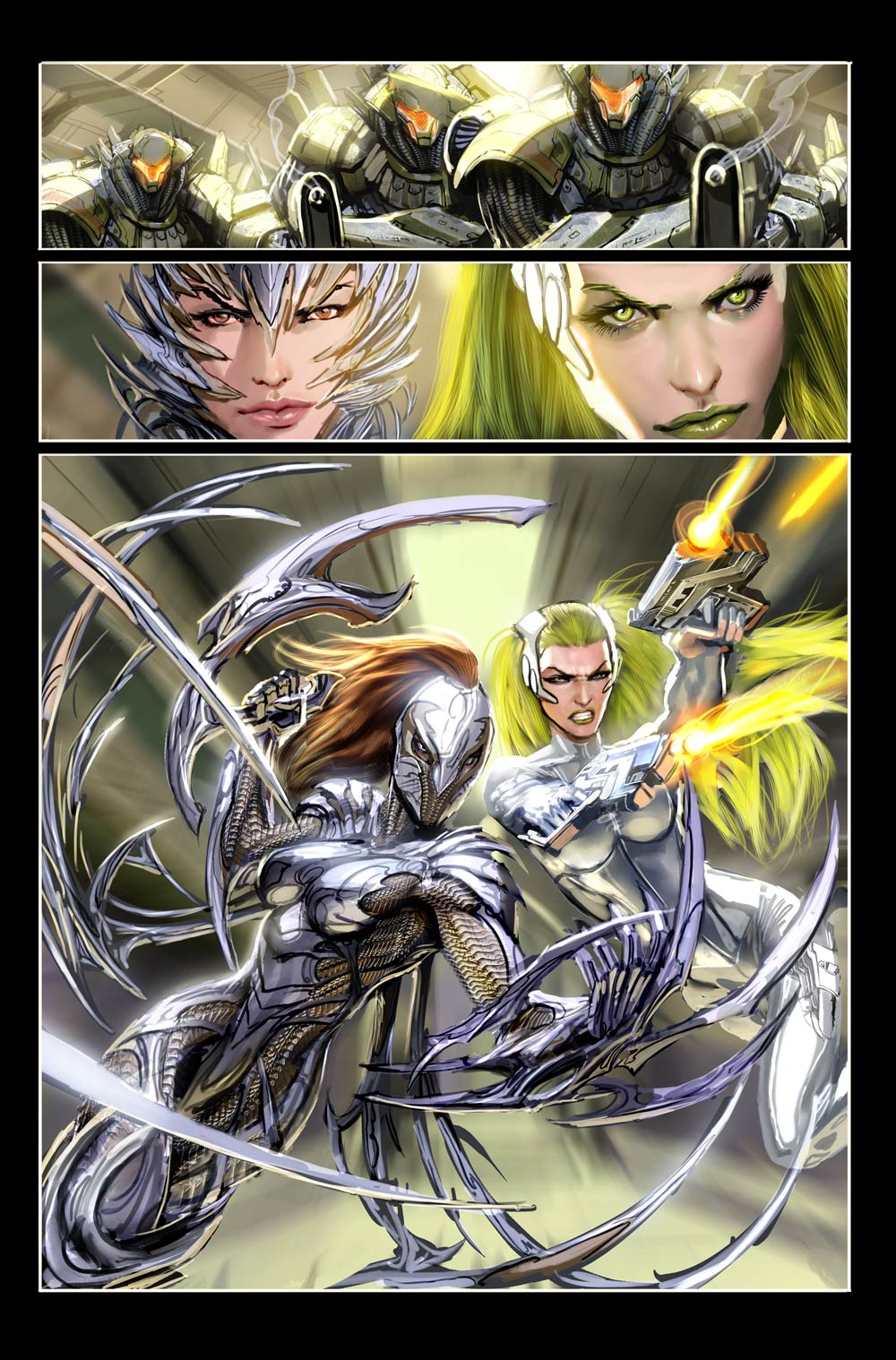 top cow stuff witchblade by nebezial