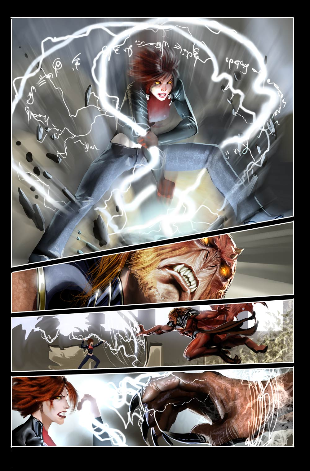 top cow stuff witchblade 6 by nebezial