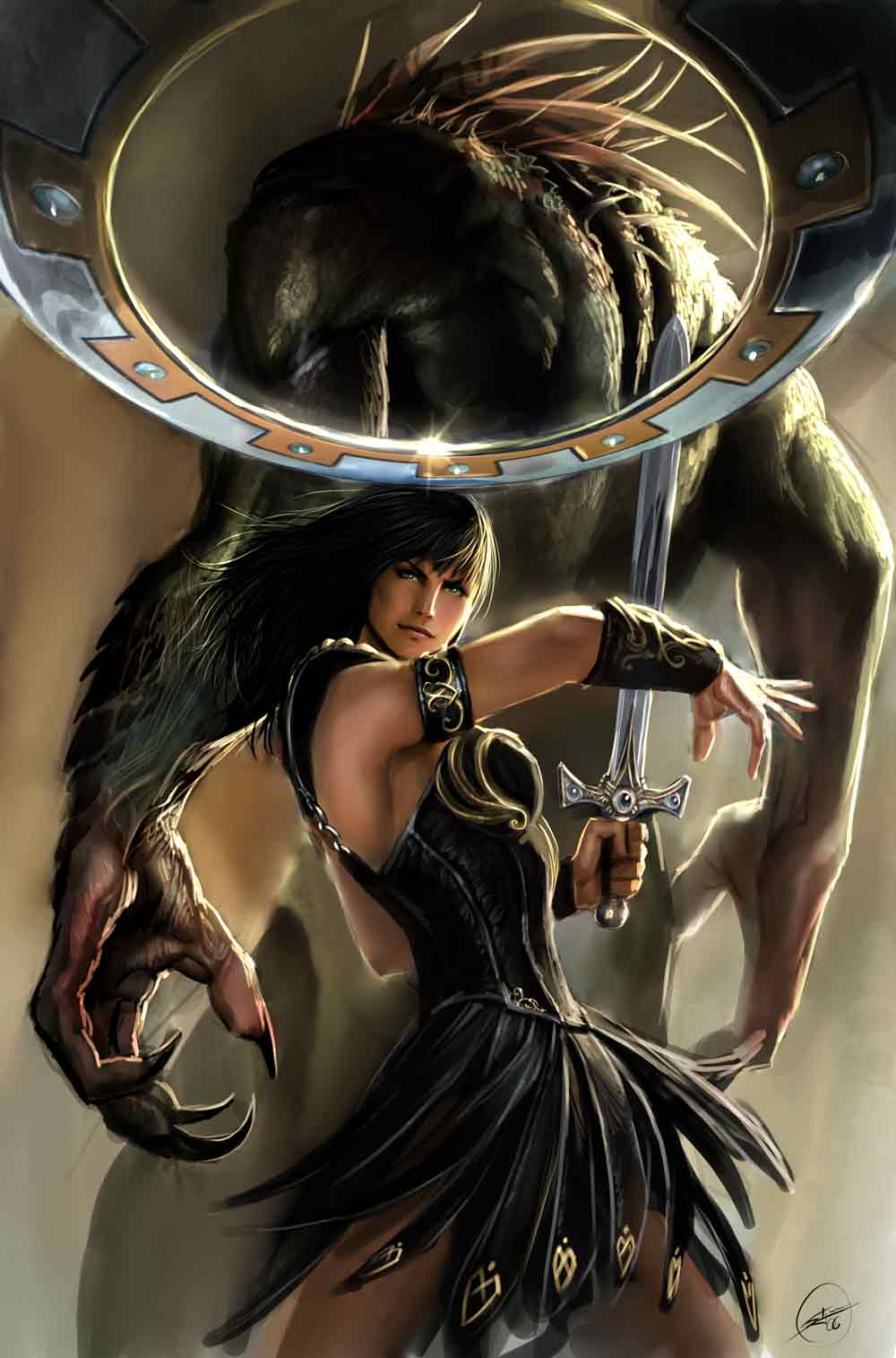 xena old cover