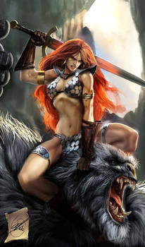 old red sonja cover