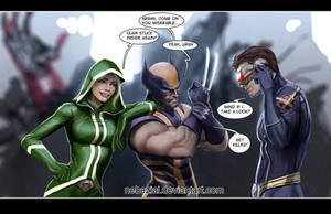 wolverine's carpal tunnel