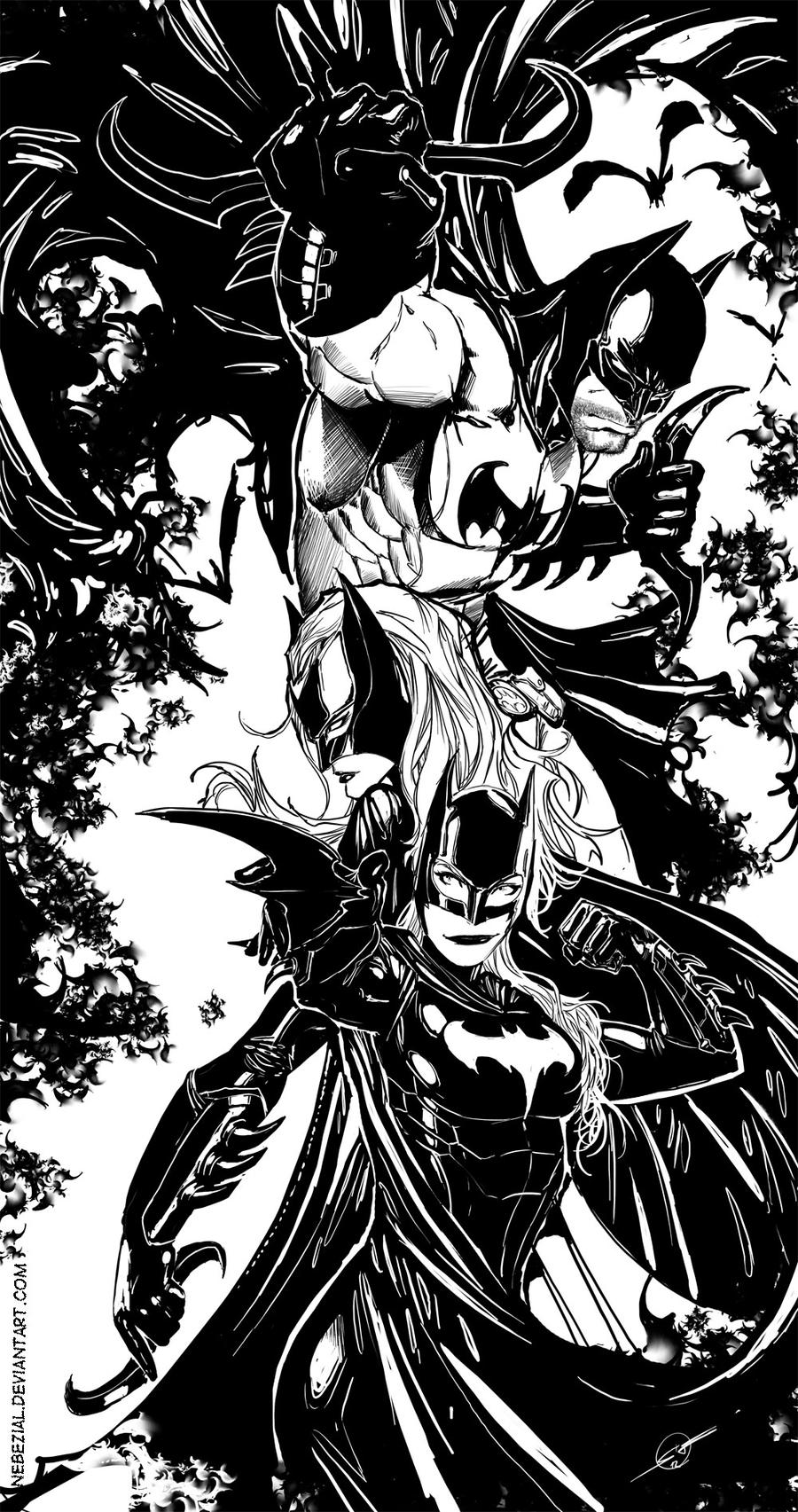 bat-people XD by nebezial