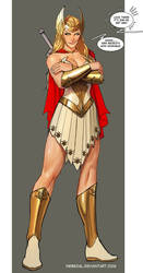 she-ra...iiis not impressed...im on a roll here