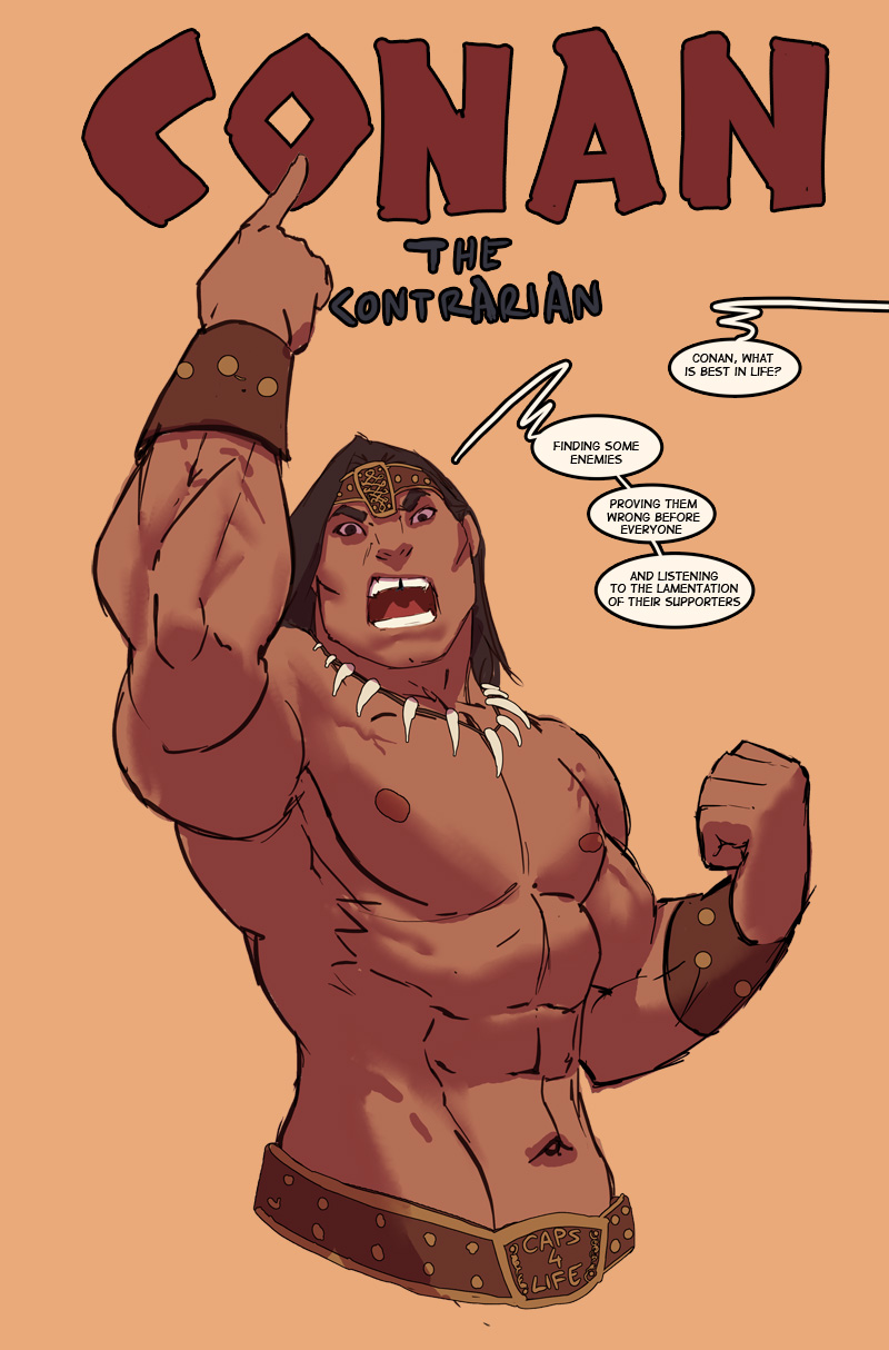 so i was  on the toilet...readin some conan.... by nebezial