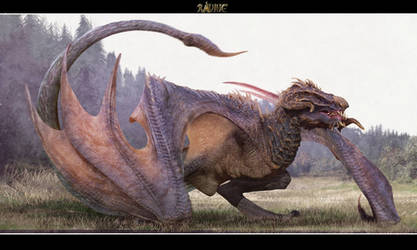 ravine- that is not a wyvern!