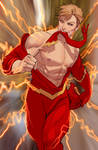 ladies he might be the fastest man alive....