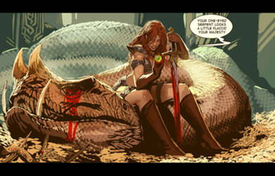 red sonja-now with sexual innuendo!