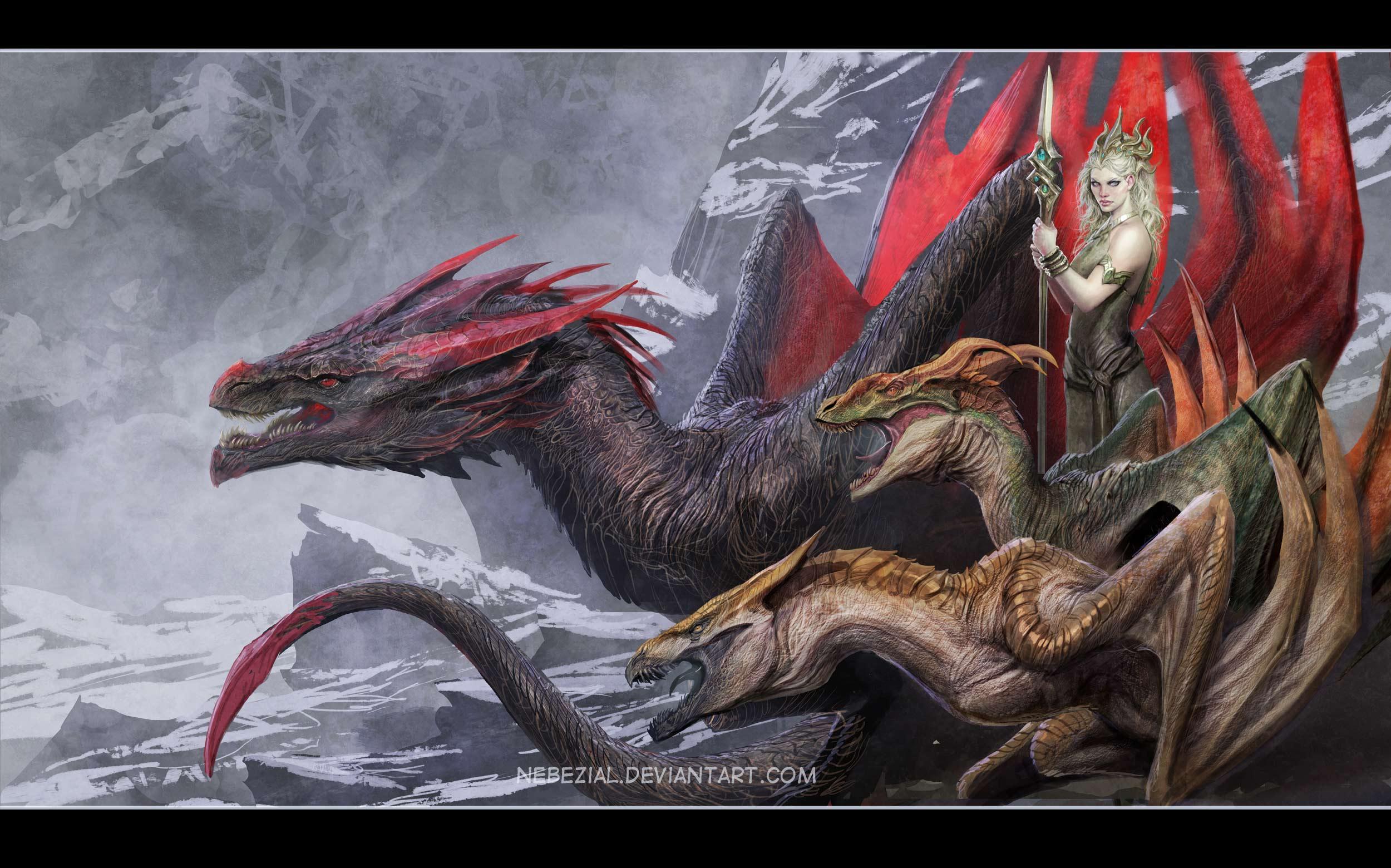 so it turns out it was daenerys... who knew ? XD
