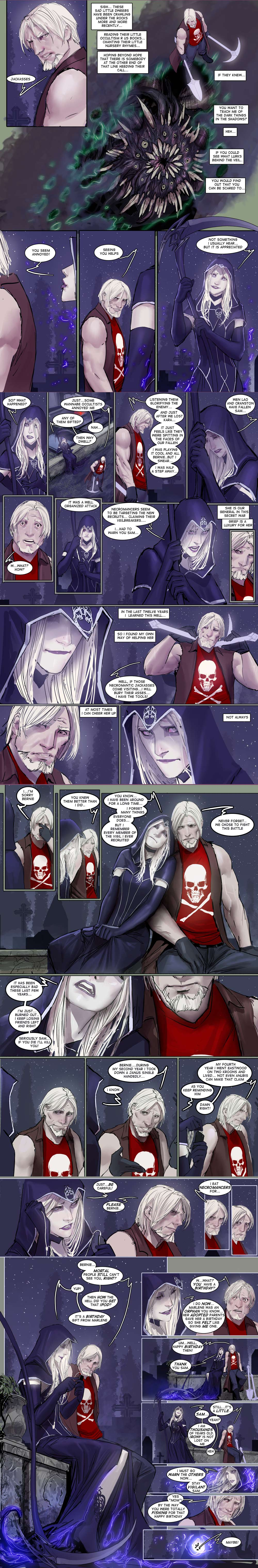death vigil pages 7 to 10 by nebezial
