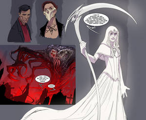 death vigil bernie the white!