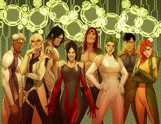aphrodite9- the eight pieces of 9 XD by nebezial