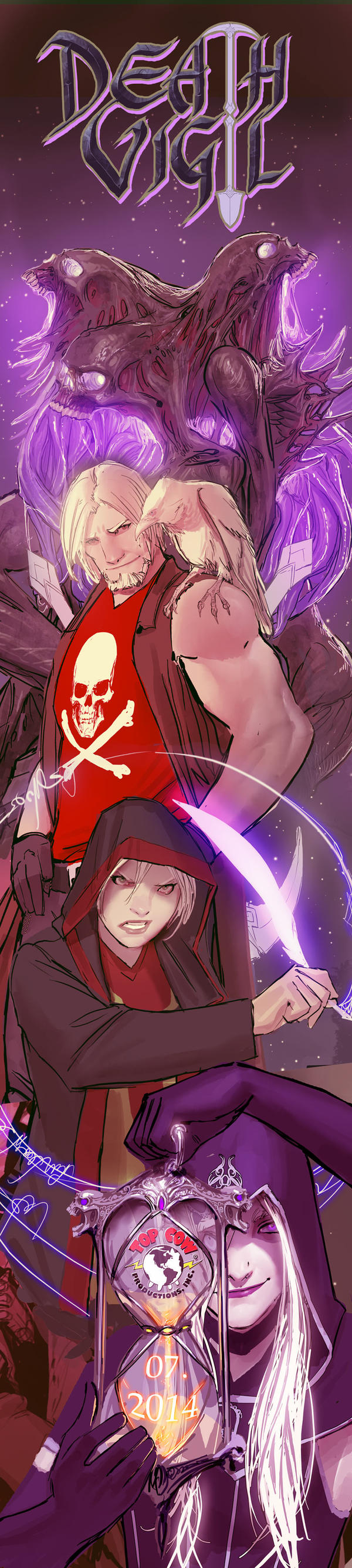 death vigil- and the winner is....big shock XD by nebezial