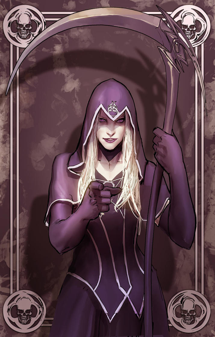 Bernadette from Death Vigil