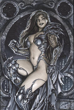 turner era witchblade commission