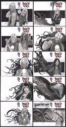 death vigil sketch covers 10 of 200