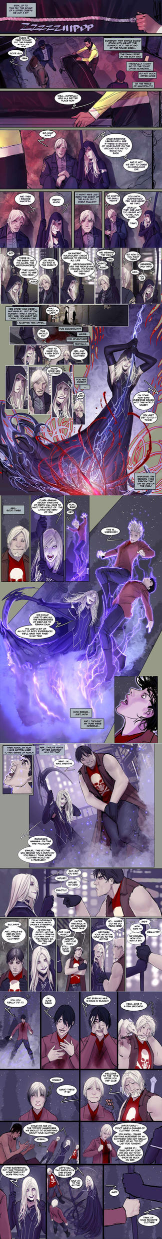 death vigil 2 first 5 pages first look :) by nebezial