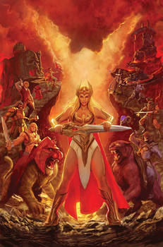 masters of the universe cover