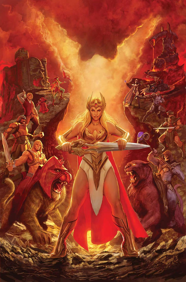 masters of the universe cover by nebezial on deviantart