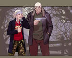 death vigil 4- Chiyoko and Vlado