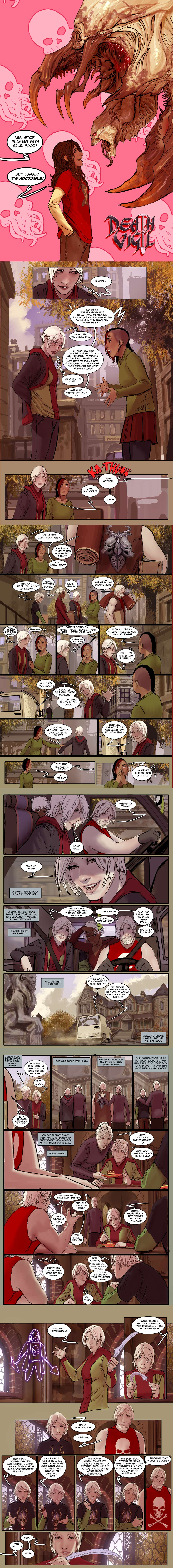 death vigil 3  preview by nebezial