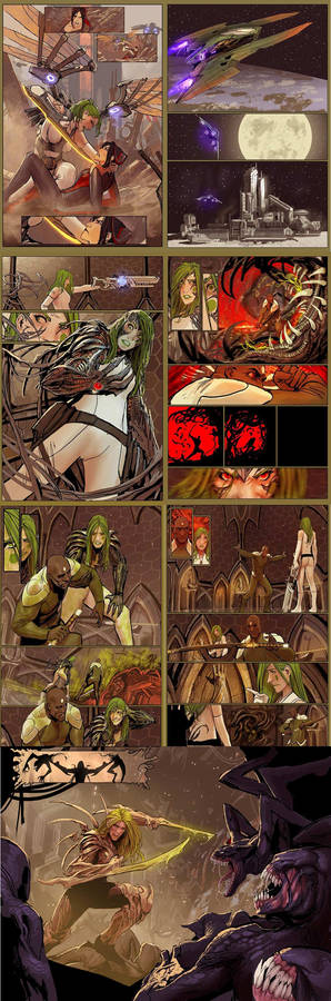 generation 9 issue 1, preview pages