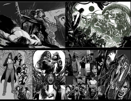 darkness falls- pages from a comic that died XD