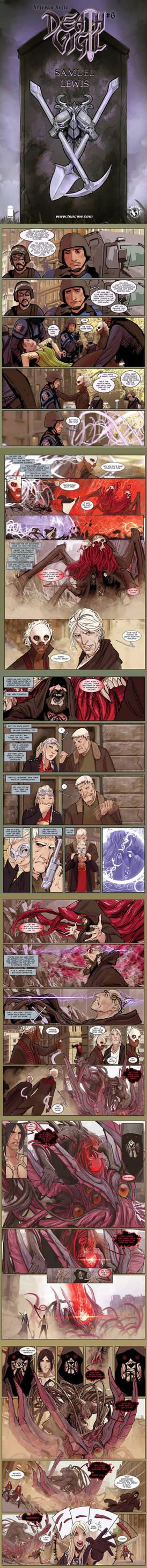 death vigil 6 preview pages by nebezial