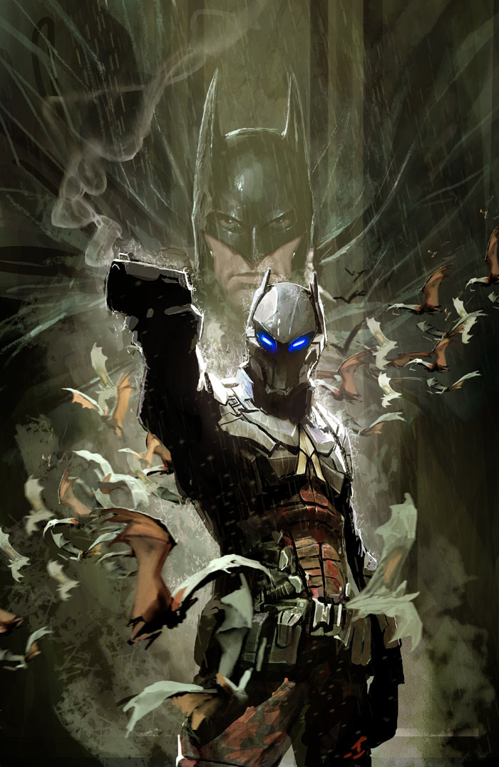 arkham knight cover by nebezial