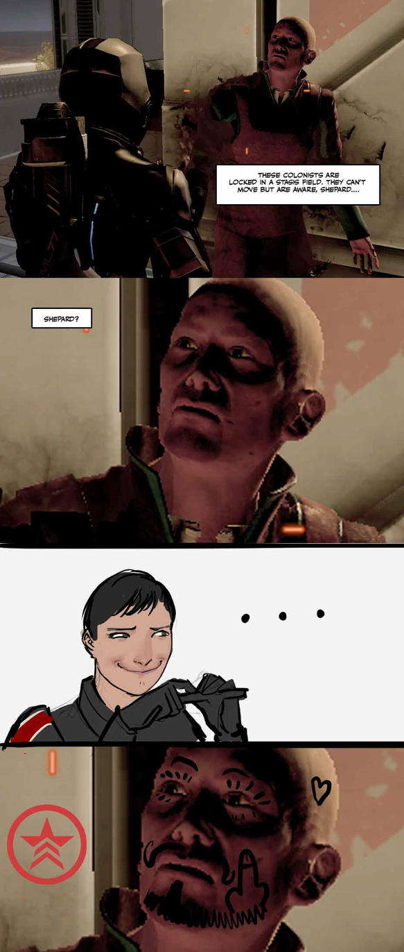 some classy , high brow, mass effect humor by nebezial