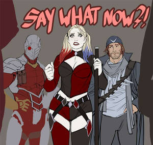 just finished work on suicide squad 20