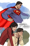 i don't know...superman theme started playing...
