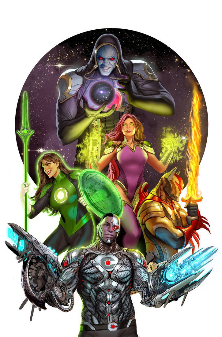 justice league odyssey 1 cover by nebezial