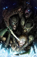 aquaman cover or as i call it: the swimming dead