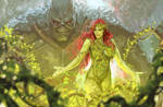 poison ivy/ swamp thing stream art