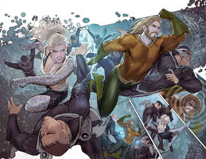 aquaman pages