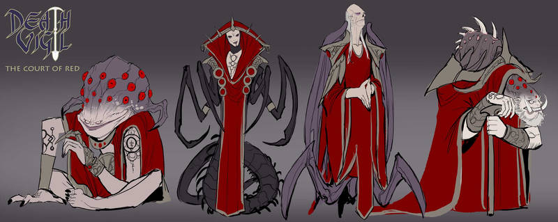 death vigil the court of red