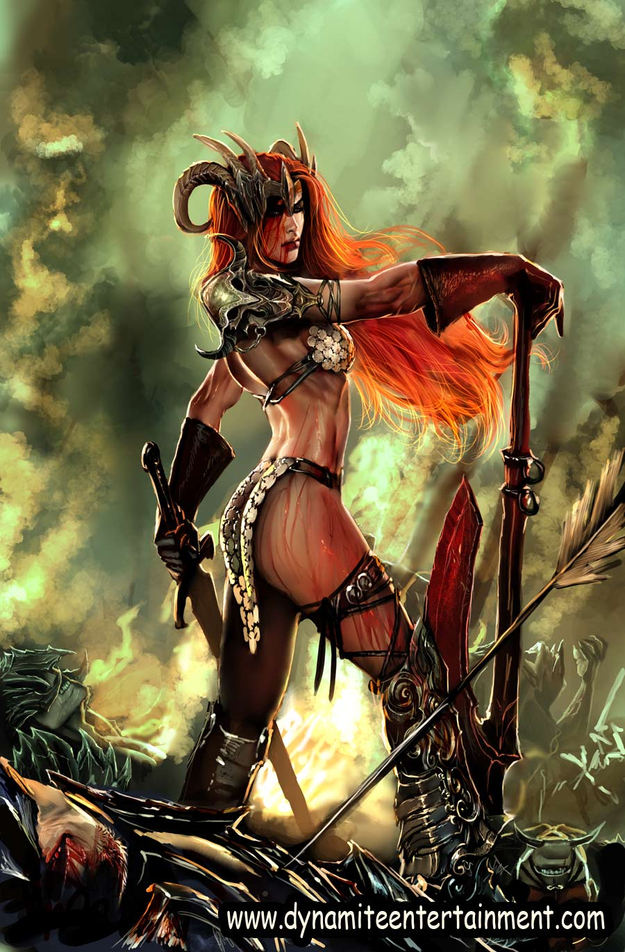 Superhero Wallpapers-Red Sonja 9