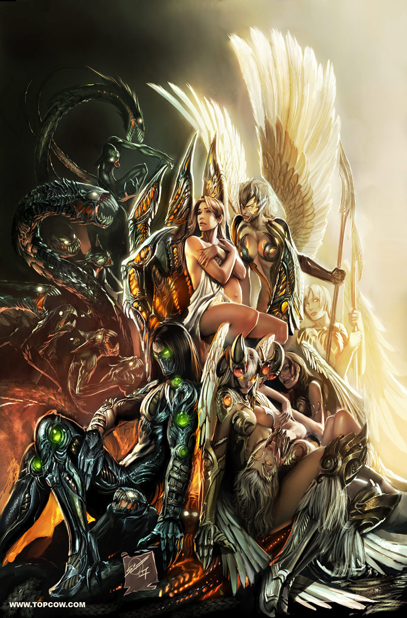 top cow , first born cover