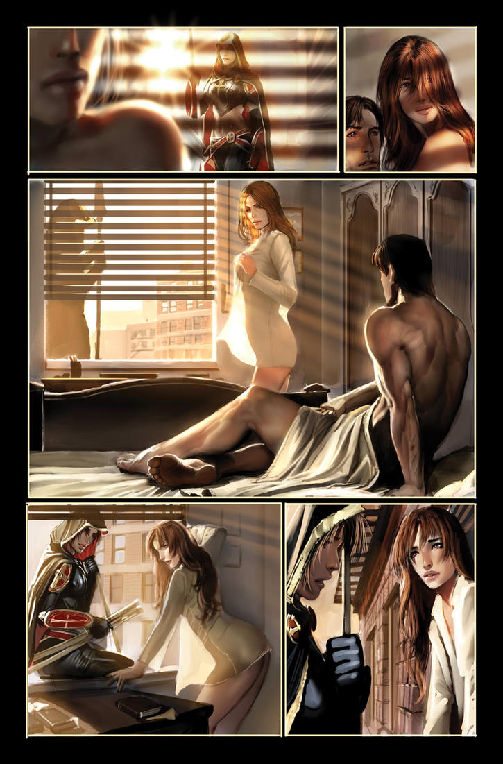 witchblade 105 page 7 top cow by nebezial