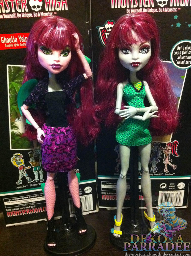 Monster High Create A Monster Wolf n Dragon by Chibi-Warmonger