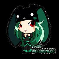 Chibi Warmonger by ReignbowFright