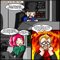 Meanwhile on the HMS-TGS... Jesse Cox is BURNING! by ReignbowFright